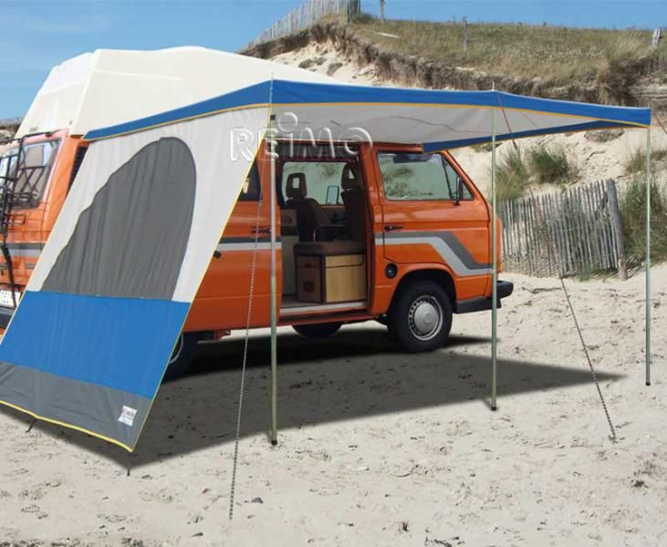 tarping for van camping equipement camping car auvent. Black Bedroom Furniture Sets. Home Design Ideas