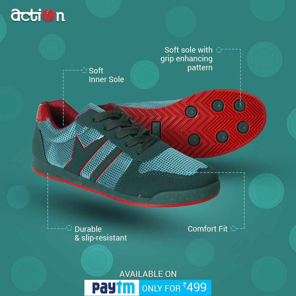 We, at Action Shoes, work to make your