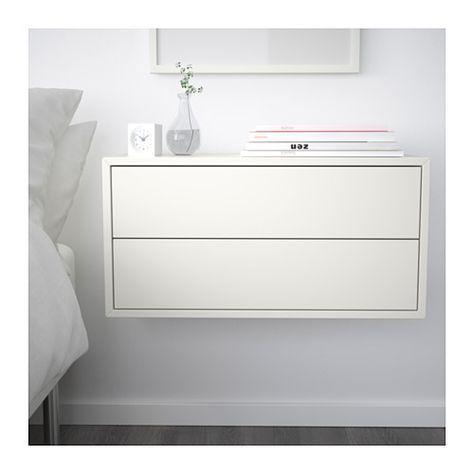 EKET Schrank mit 2 Schubladen weiß IKEA Deutschland