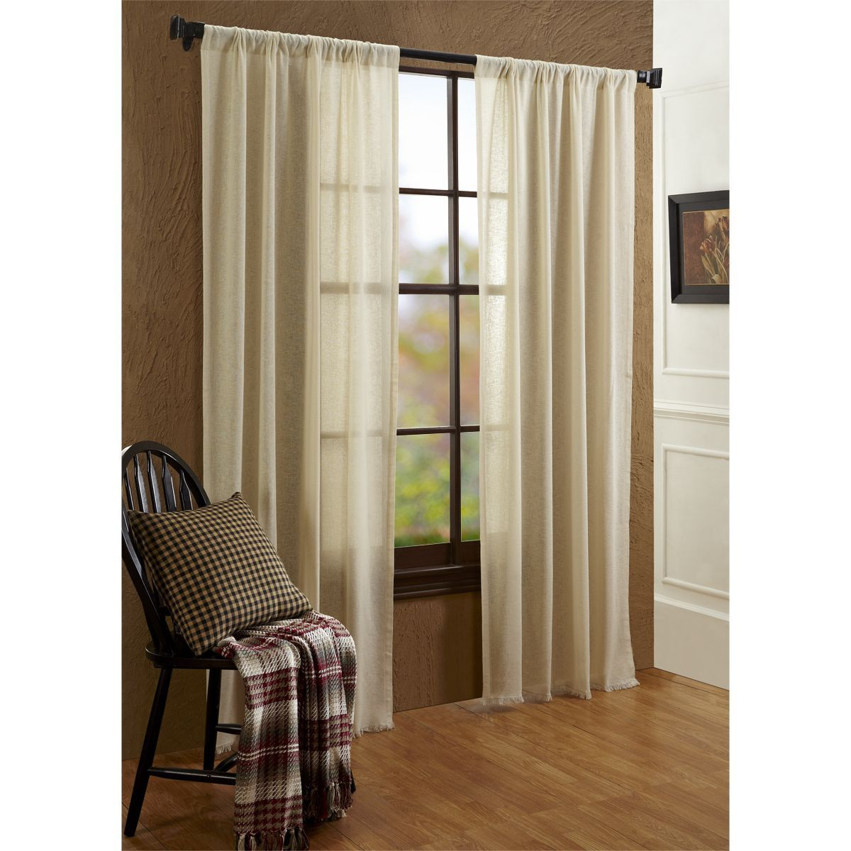 Our Tobacco Cloth Curtain Collection Is Light And Airy Perfect