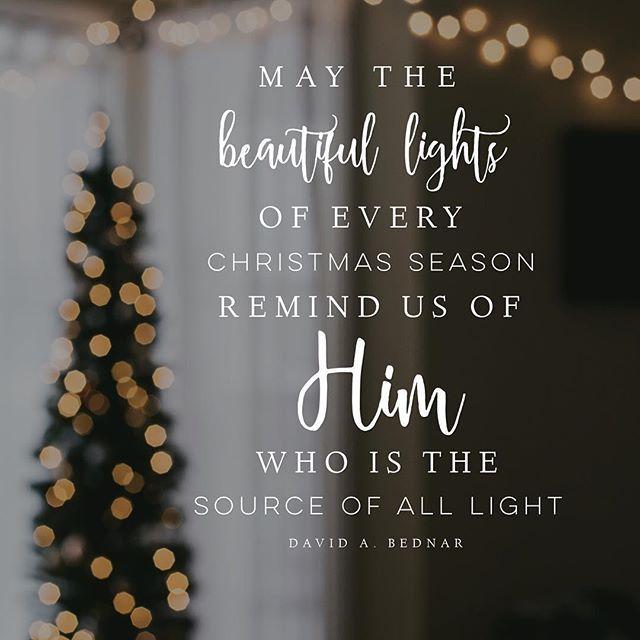 He is the light. #lighttheworld #lds #mormon #christian #sharegoodness  #armyofhelaman #helaman | Christmas quotes jesus, Christmas lights quotes,  Christmas bible
