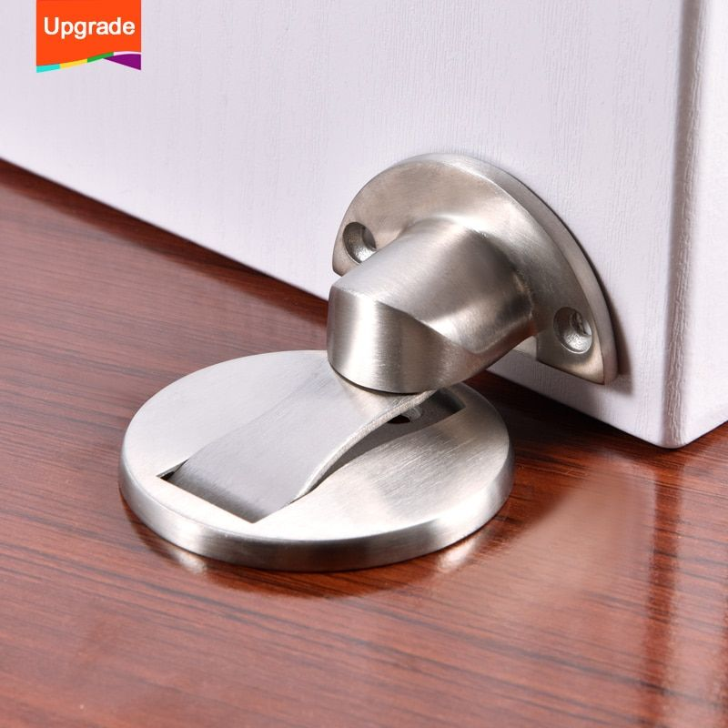 Magnetic Stainless Steel Door Stopper Trainedtools In 2020 Stainless Steel Doors Door Stopper Steel Doors