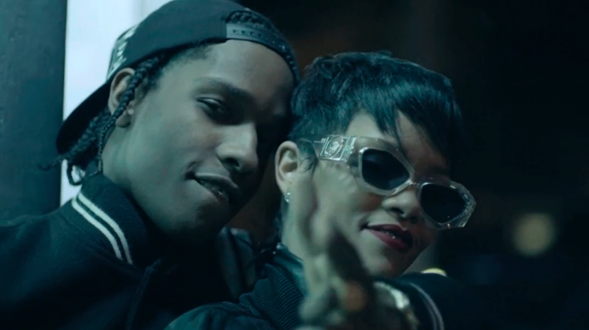 """In case you missed the official video premiere of ASAP Rocky's """"Fashion  Killa"""" co"""