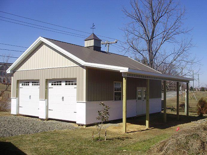 Building dimensions 24 w x 32 l x 10 4 h id 448 24 for Pole barn dimensions