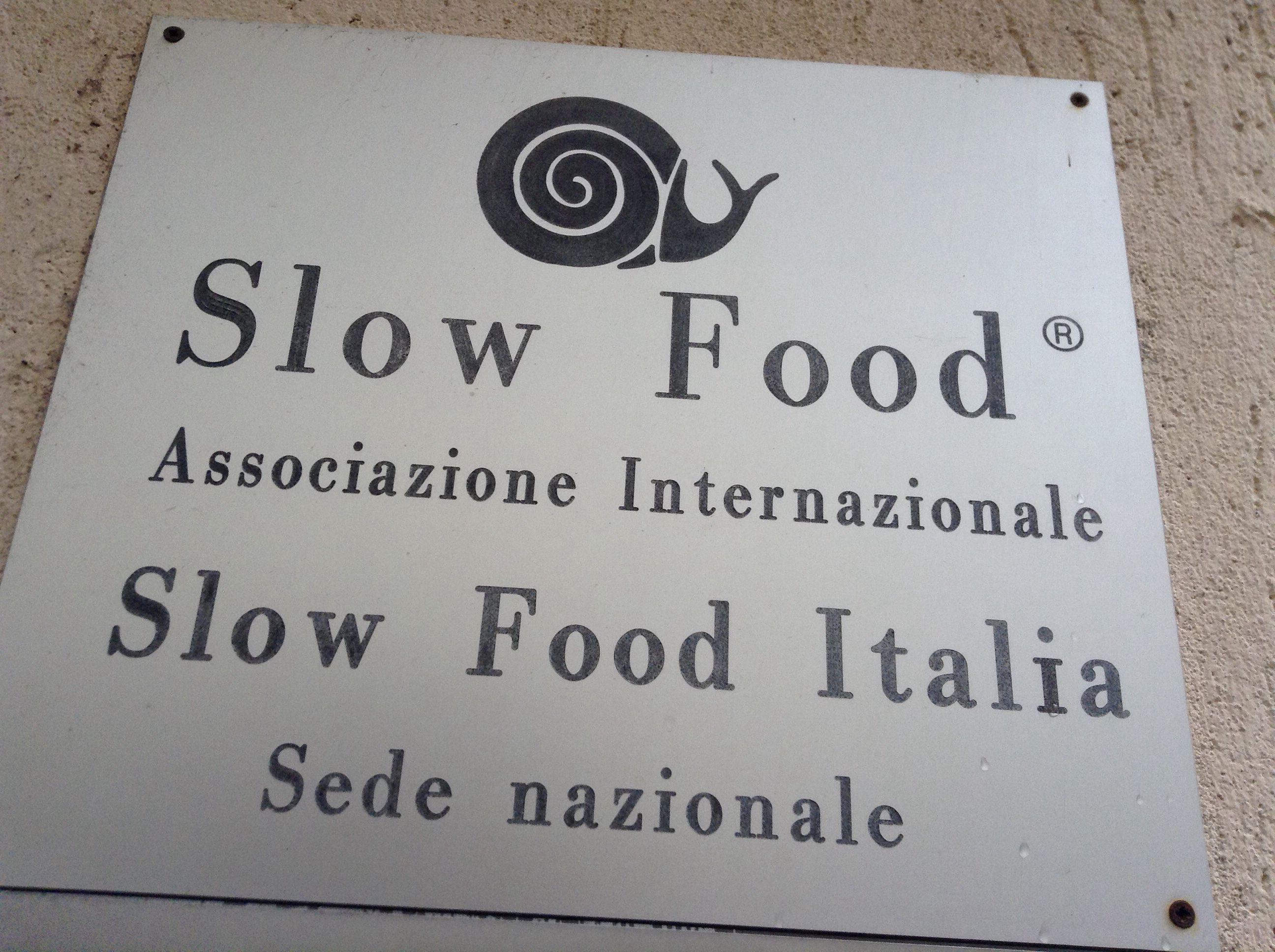 Slow food head office in Bra
