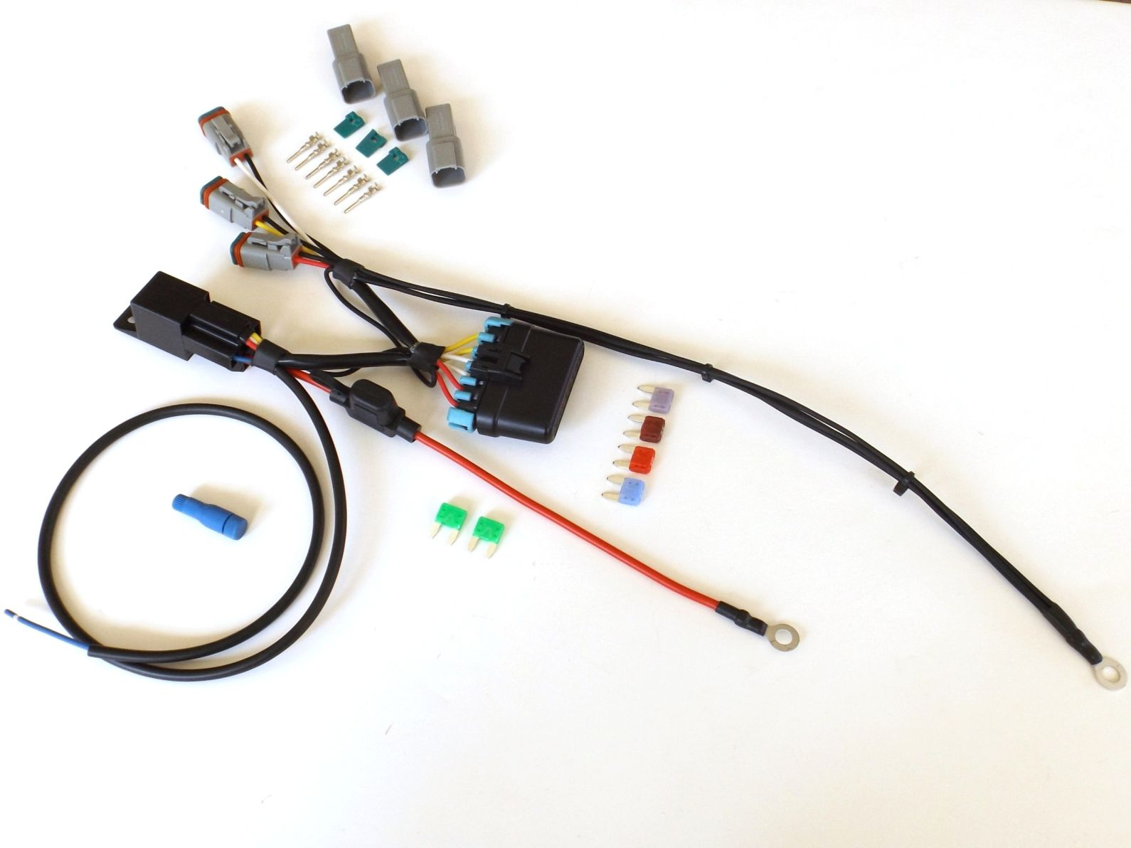 Sealed Fuse Box Circuit 3 Electrical Wiring Diagrams 2004 Kia Mini Relay Kit Dual Sport Motorcycles Spectra