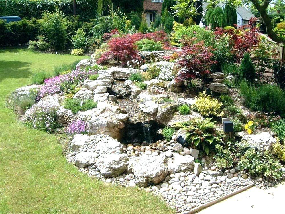 Building A Rock Garden How To Build A Rock Garden On A Slope Building Rock  Garden