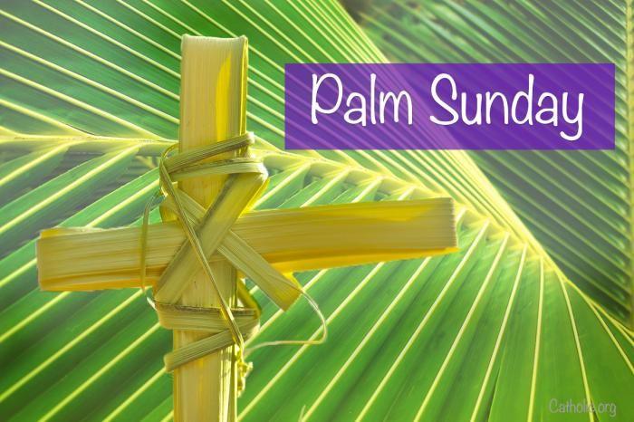 14+ Catholic palm sunday clipart ideas