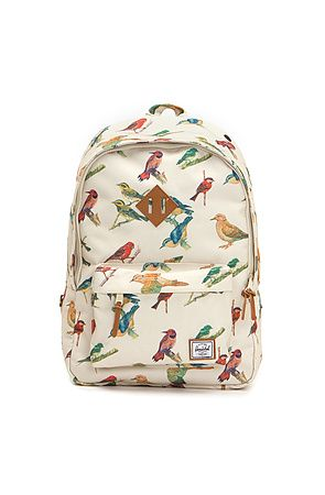 c9f8dd1f389 Heschel Supply Woodlands Backpack in Bird Print