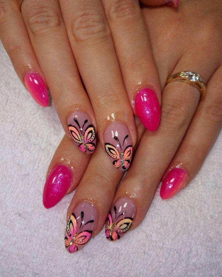 Cute Pink Nail Design 2018 new | Pink nails, Pedi and Mani pedi