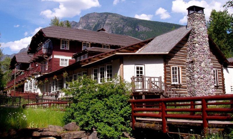 Lake Mcdonald Lodge Glacier National Park
