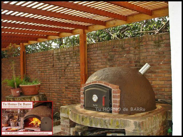 Tu horno de barro hornos de barro artesanales argentina buenos aires zona norte sur oeste - Disenos de hornos de lena ...