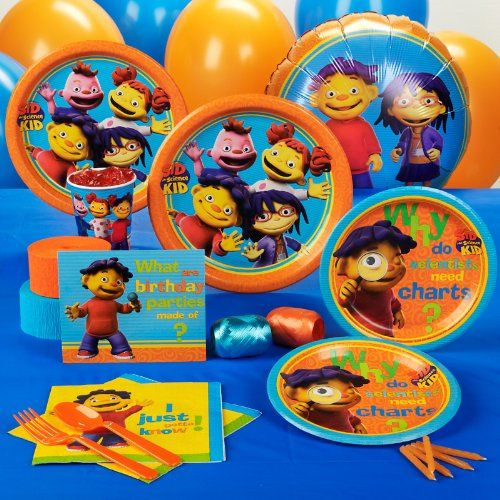 Sid The Science Kid Party Supplies And Ideas In 2019 Sid