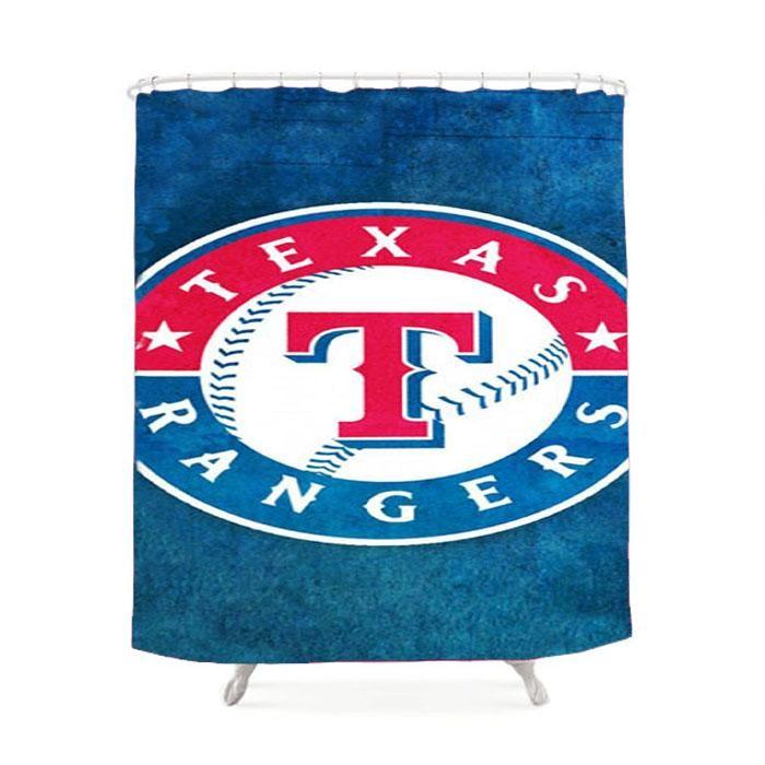 Texas Rangers Symbol Shower Curtain