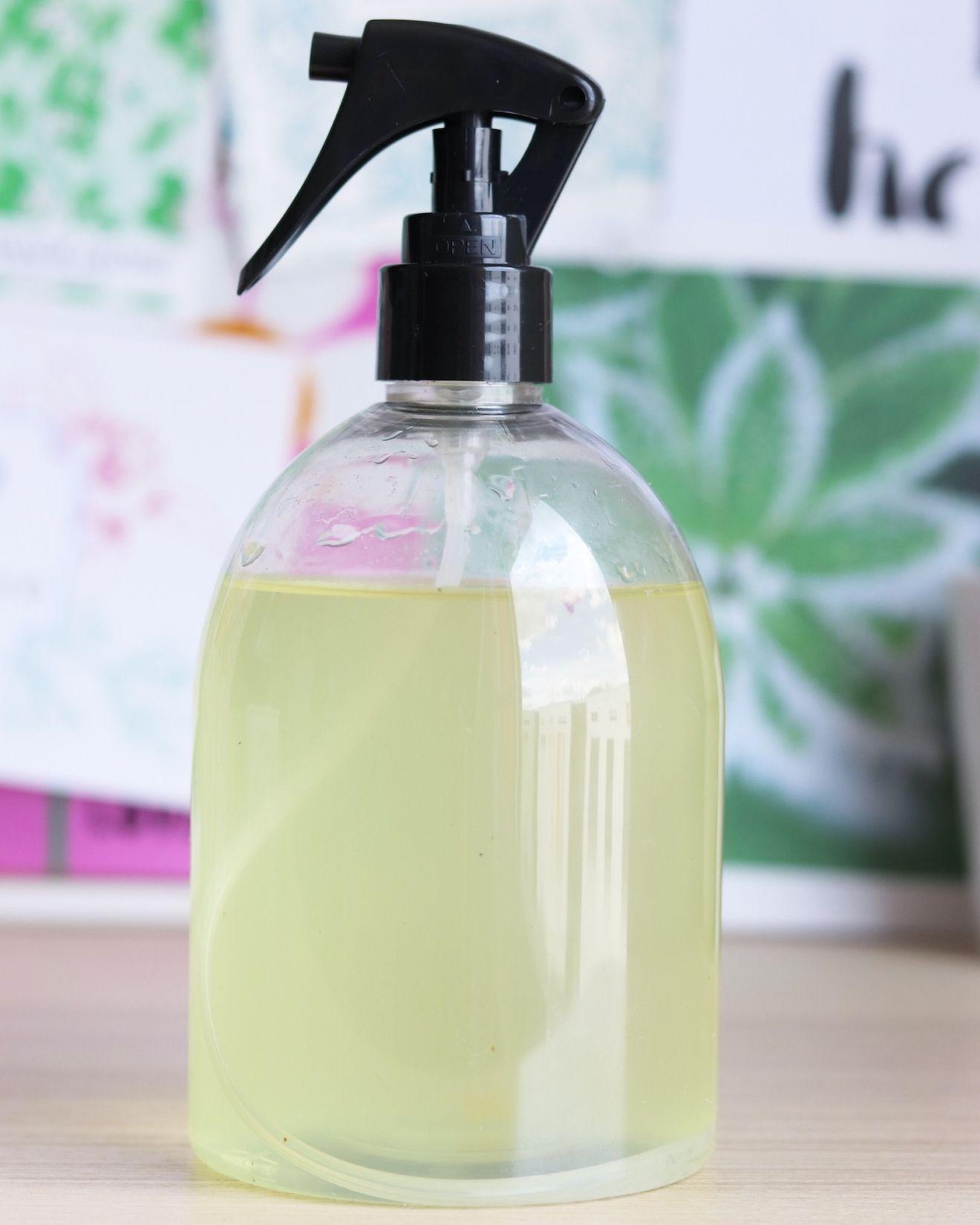 Mon spray nettoyant multi usages maison avec images - Produit nettoyage facade maison ...