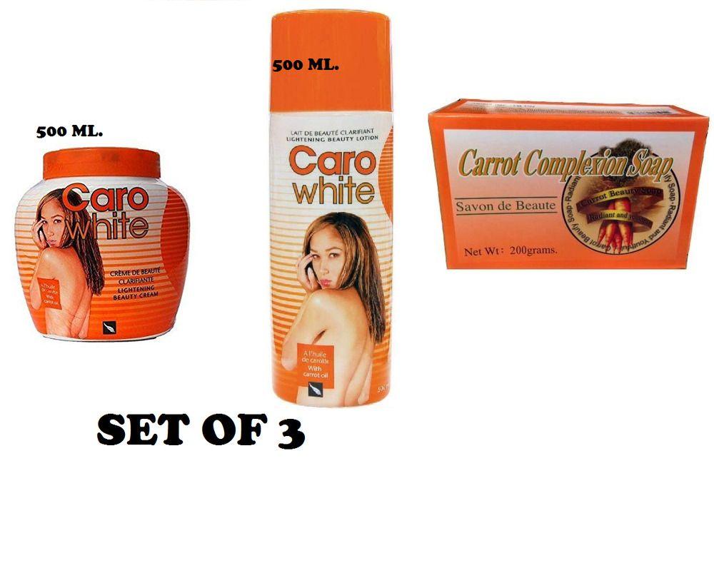 Caro White Skin Lightening Beauty Skin Care Set Of 3 You Choose The Size Carowhite In 2020 Beauty Skin Care Caro White Skincare Set