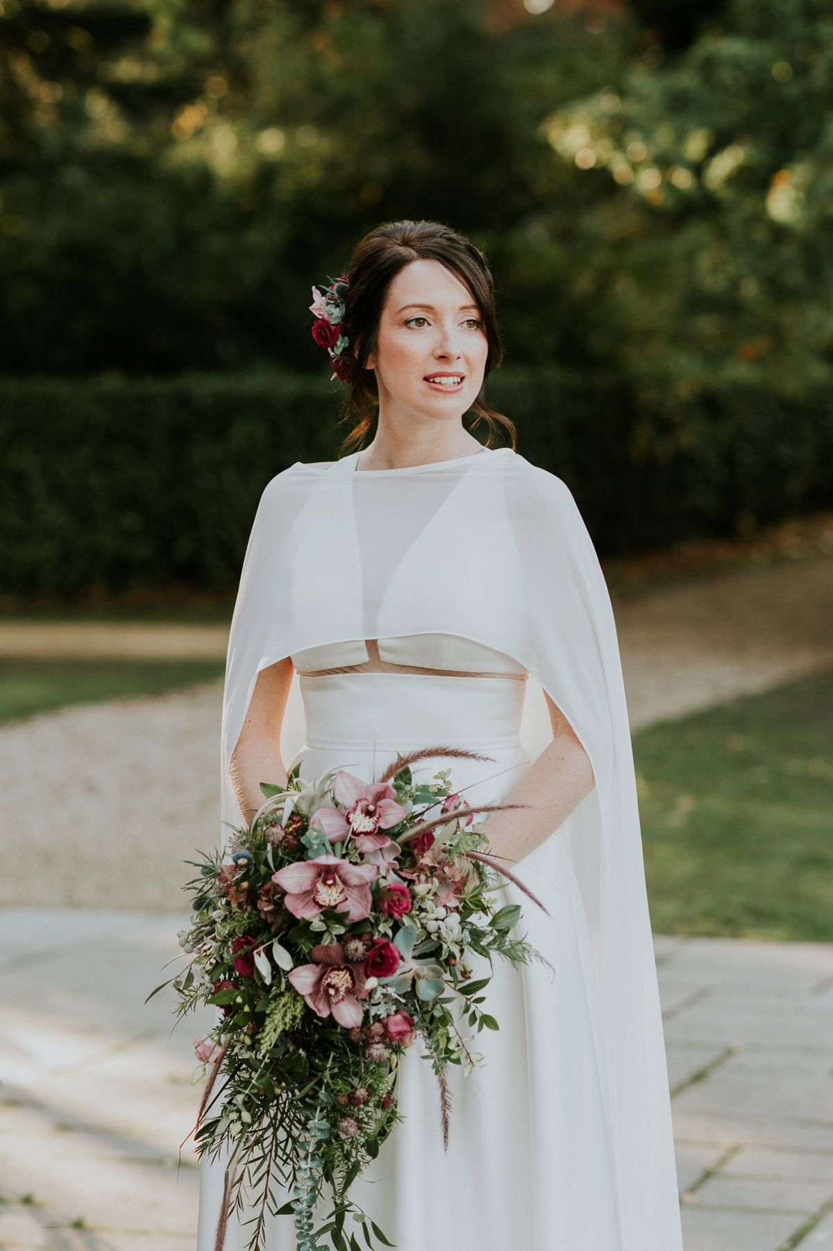 Jesus Peiro A Bridal Cape For A Victorian Botany Inspired