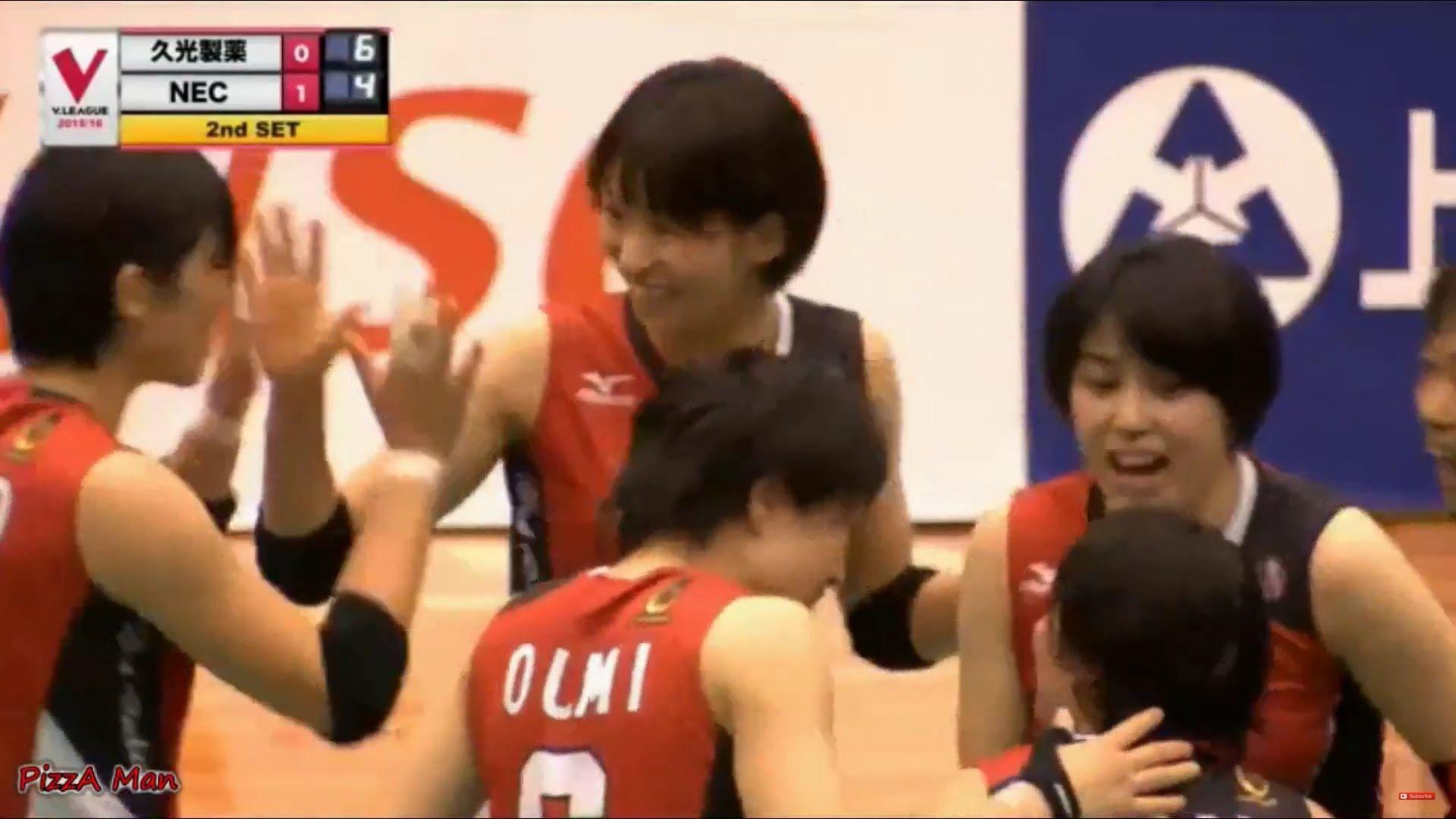 24 Oct 15 Sarina Koga Vs Hisamitsu Springs V League