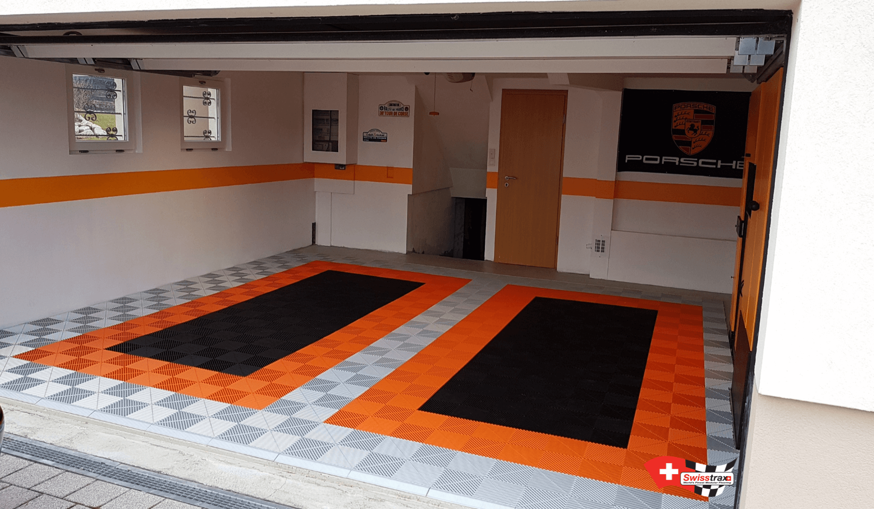 dalles de sol pour garage  revetement sol garage design