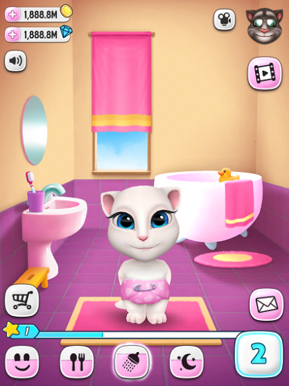 my talking tom angela hack download