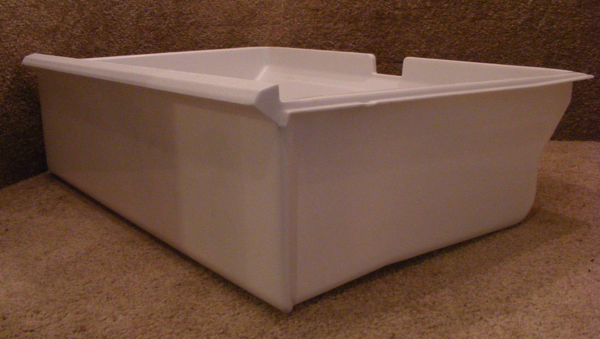 WR32X1181 GE Refrigerator Full Crisper Pan Drawer