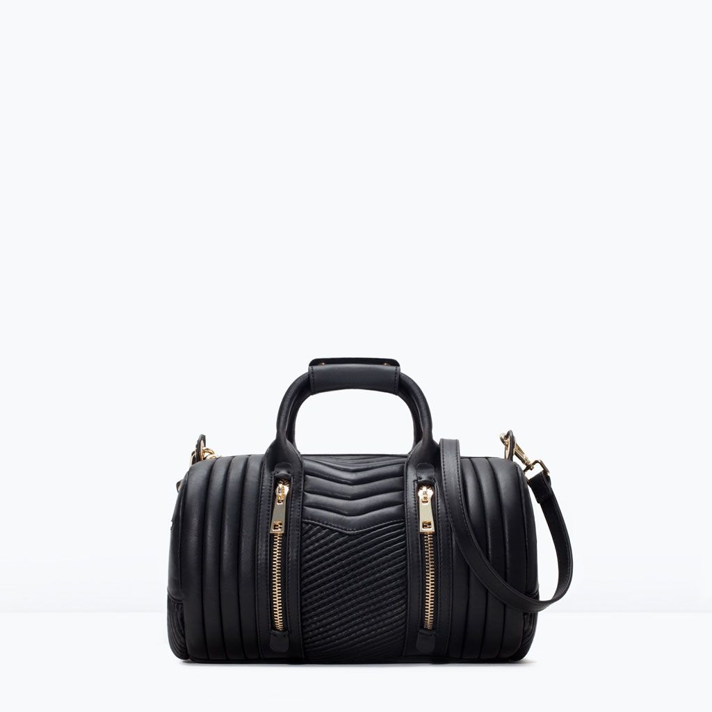 QUILTED BOWLING BAG-Woman-NEW THIS WEEK   ZARA United States