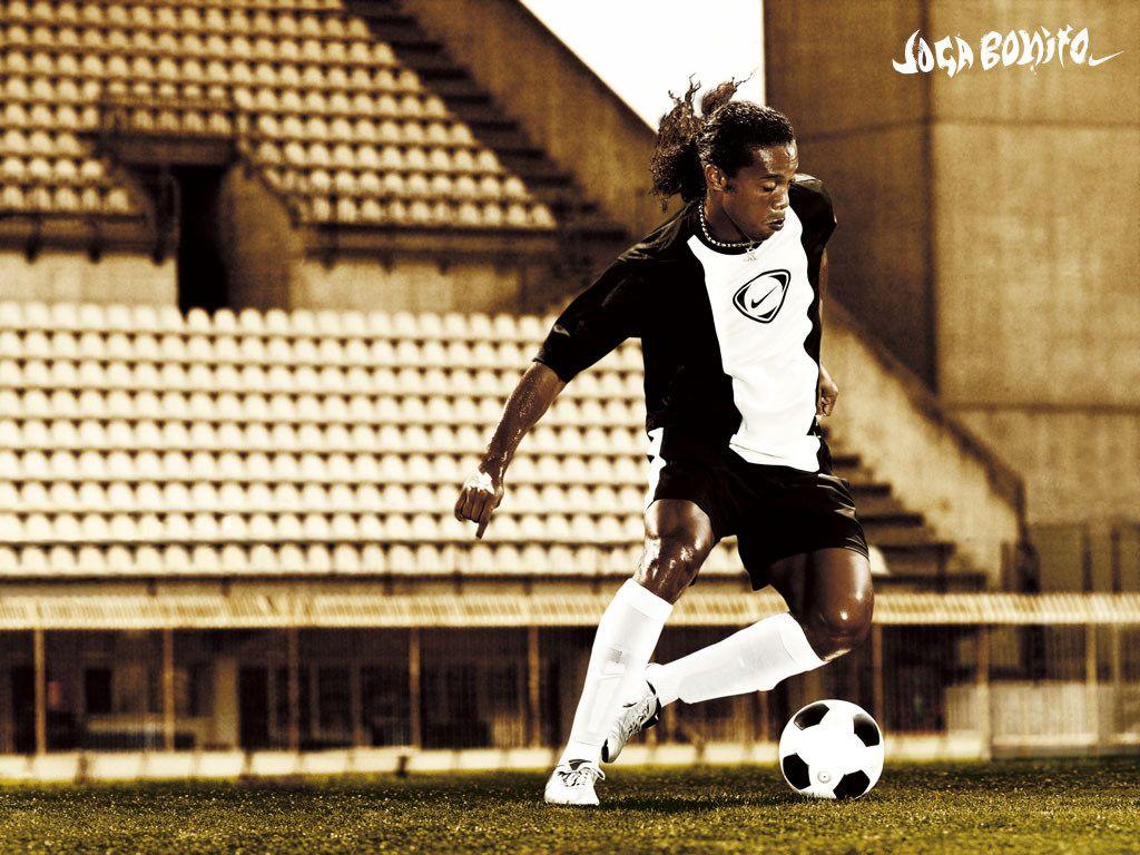 Ronaldinho Joga Bonito Soccer Images Nike 77 Soccer