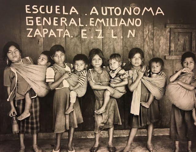 """""""Los zapatistas son muy generosos y hospitalarios, verdaderamente son una lección de humanidad"""""""