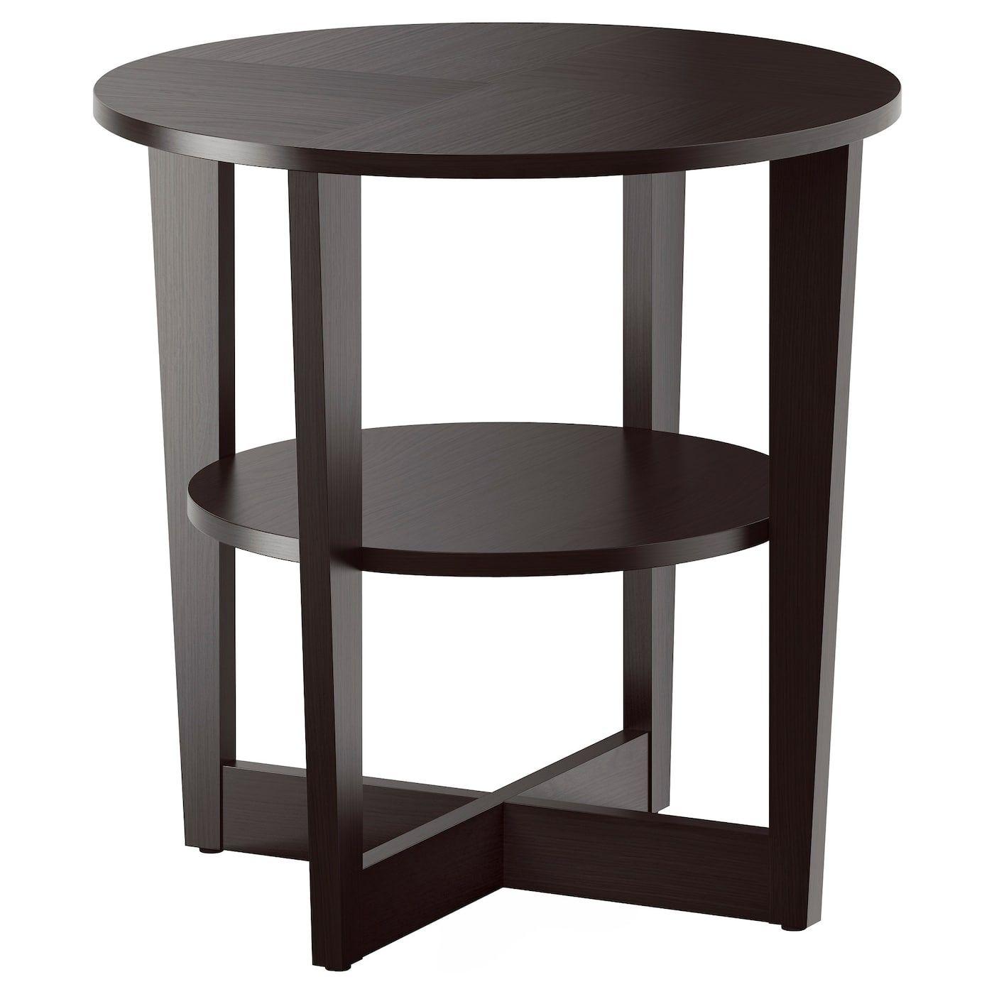 Vejmon Beistelltisch Schwarzbraun Ikea Osterreich Beistelltisch Rund Moderne Beistelltische Und Couchtisch Schwarz