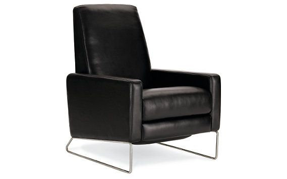 Flight Recliner In Leather Designed By Jeffery Bernett And Nicholas Dodziuk For Design Within Reach