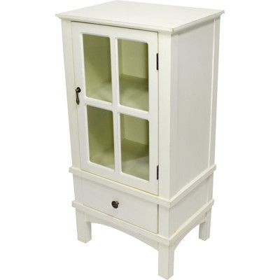 August Grove Litzy 1 Door Accent Cabinet Cabinet Cabinet Doors Utility Cabinets