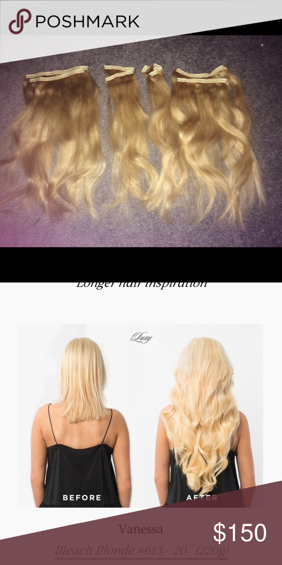 Luxy Hair Extensions 220 Gram Luxy Hair Extensions Made From 100