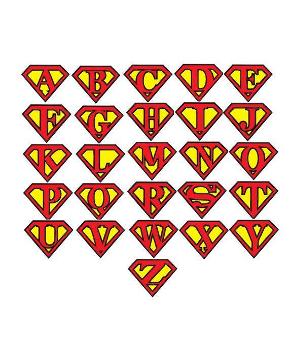 Superman Alphabet...Pattern Fill Machine Embroidery DESIGN ...