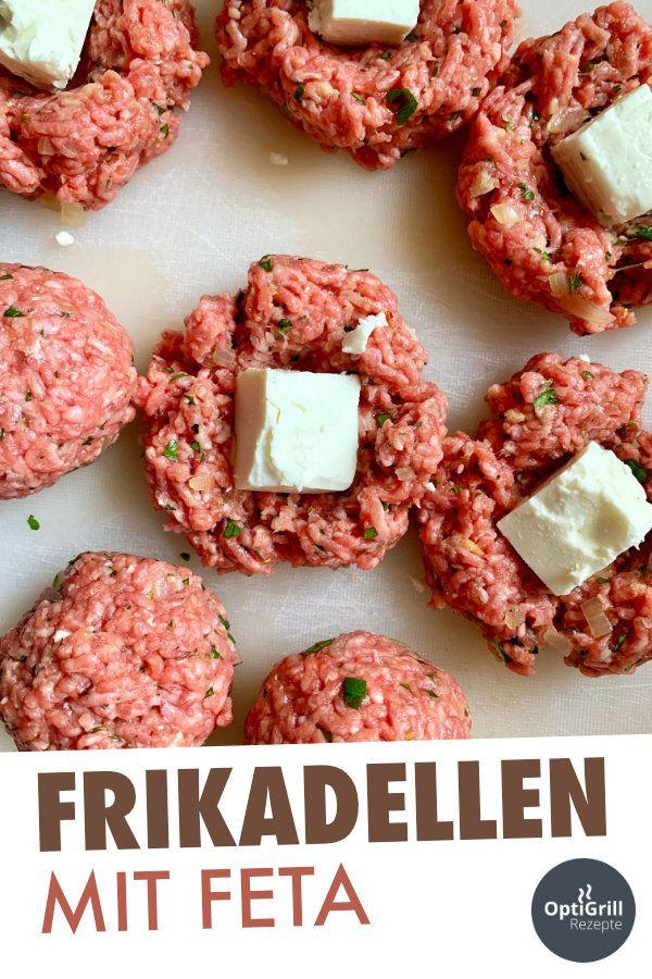 Photo of Bifteki: Frikadellen mit Feta gefüllt