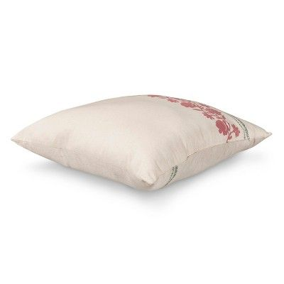 Neutral Emma Throw Pillow 40X40 Beekman 40 Farmhouse Cool Beekman Home Decorative Pillow