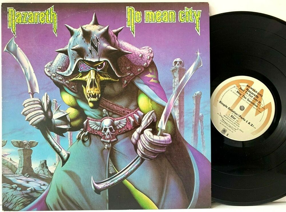 Nazareth No Mean City A M Sp 4741 Original Lp Vinyl Record Album Capitolcollectibles Com Stores Ebay Com Capcollectibles Amazon Lp Vinyl Vinyl Records Vinyl