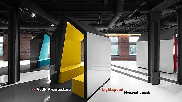 ACDF Architecture Lightspeed Montreal Interior Design