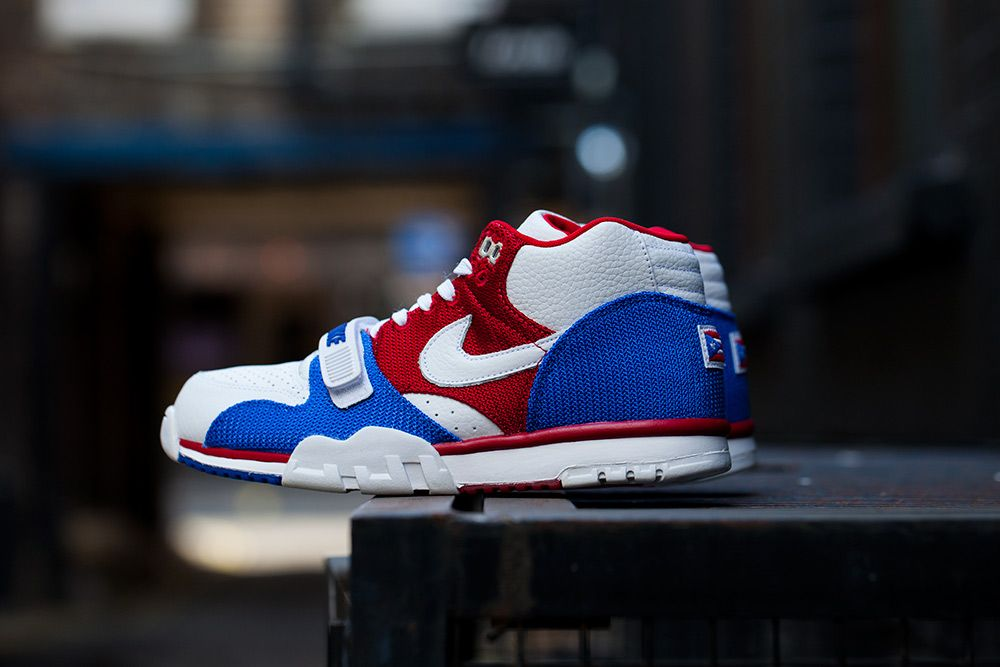 """90df1a856 Releasing  Nike Air Trainer 1 Mid QS """"Puerto Ricoâ"""