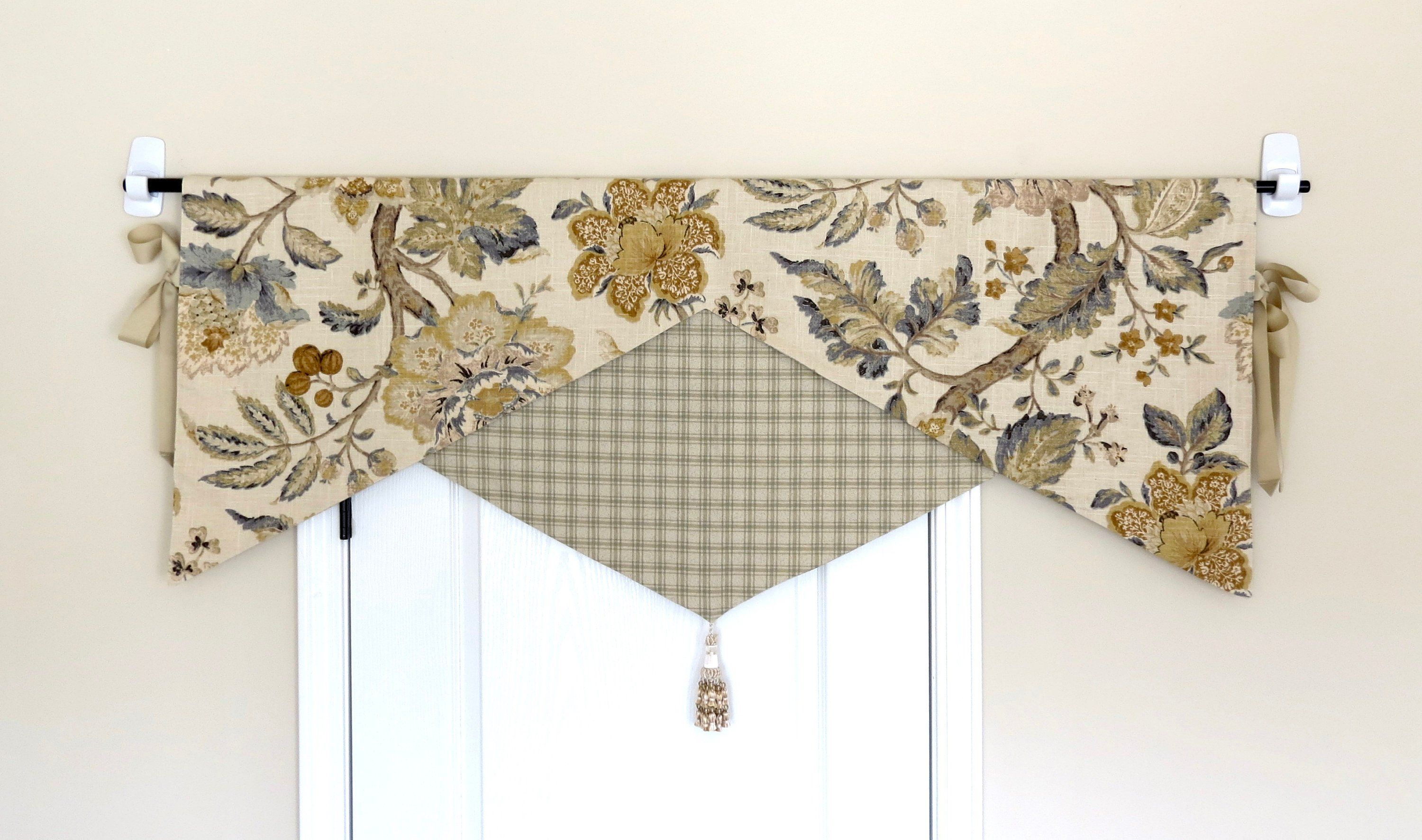 Decorative Reversible Valance For