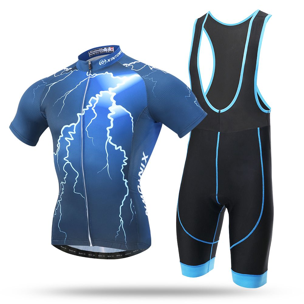 mens cycling Short sleeve jersey and shorts cycling jerseys cycling bib shorts c