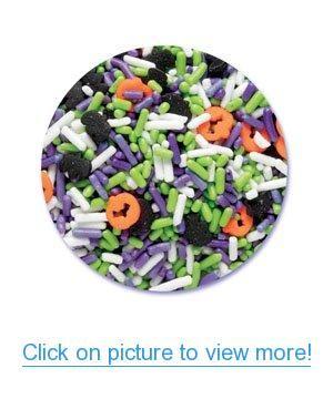 Halloween Edible Sprinkle Blend Mix (4 Oz Container) #Halloween #Edible #Sprinkle #Blend #Mix #Oz #Container