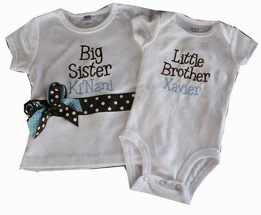 Babies clothes - I Am His Big Sister T-shirt Kids T-Shirts Rock - The Blog!: All