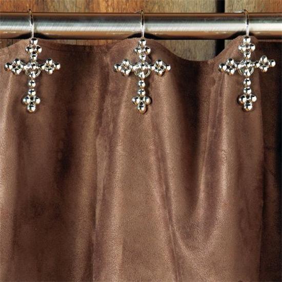 Charmant Jeweled Shower Curtain Hooks   Love It!