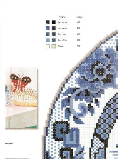 Labores de Punto de Cruz 112 - creativa - Picasa Web Albums