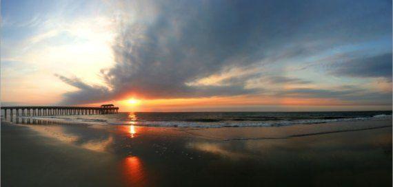 Tybee Island sunrise