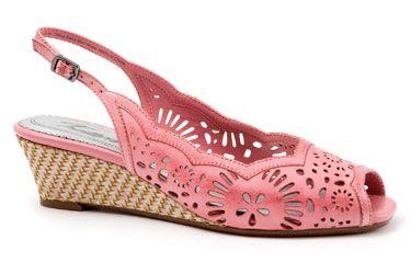 Pretty in pink. Trotters Melanie in Pink.