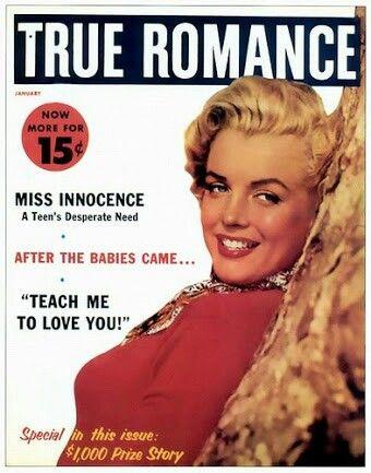 Marilyn Monroe Magazine, True Romance
