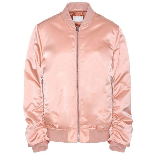 Pale Pink #Satin Puffer #Jacket | satin jacket wholesale ...