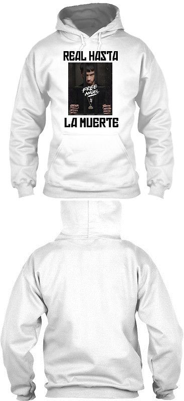 T-Shirts 15687: Free Anuel Aa S - Real Hasta La Muerte Gildan Hoodie