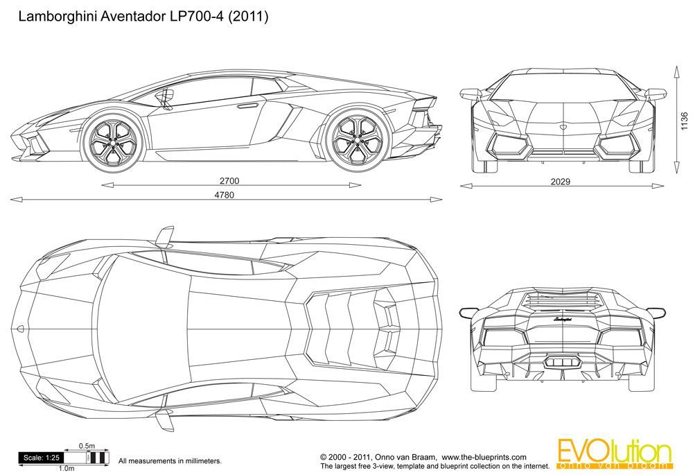 Lamborghini Blueprints Open Lamborghini Real Account Here